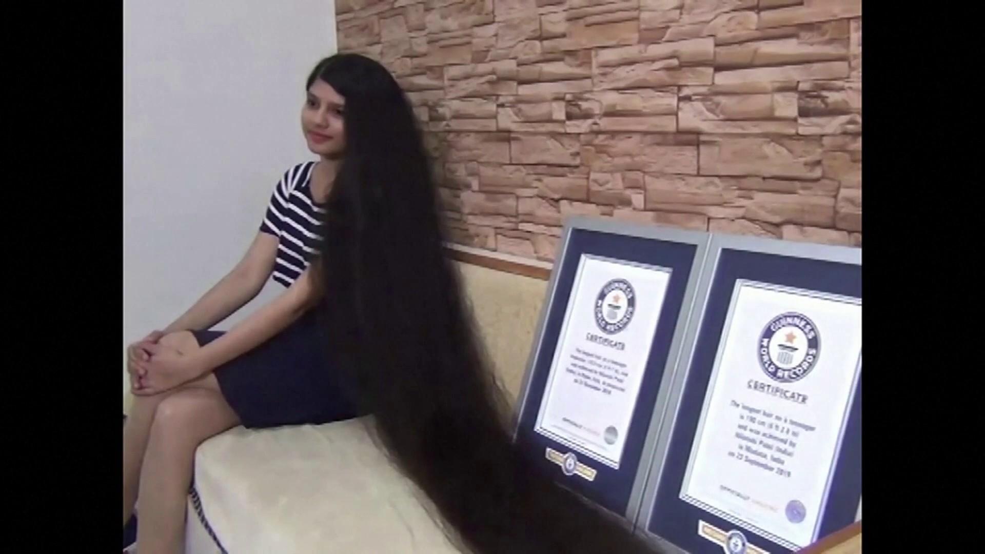 Longest Hair