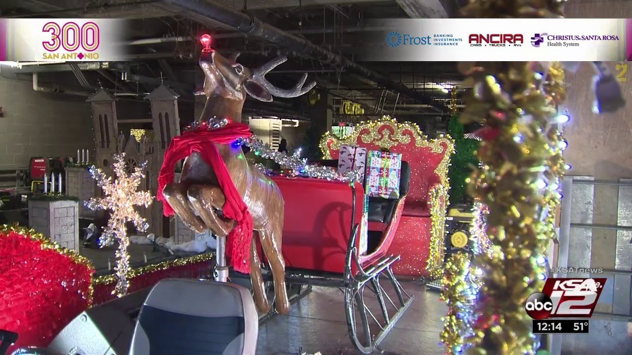 Ford Holiday River Parade Celebrates All Things San
