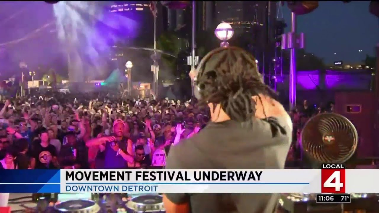 Movement Electronic Festival 2018 in Detroit: What you need to know