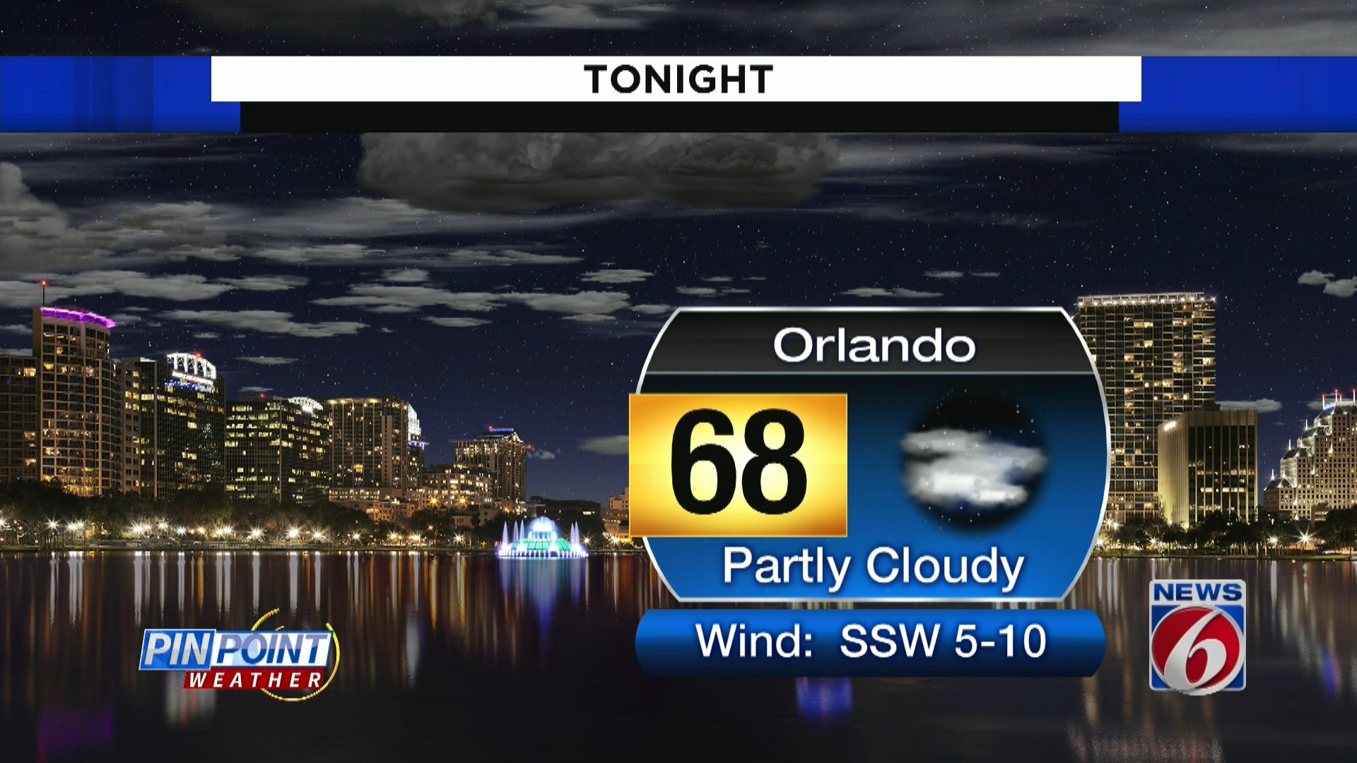 news 6 evening forecast for april 7th clickorlando com