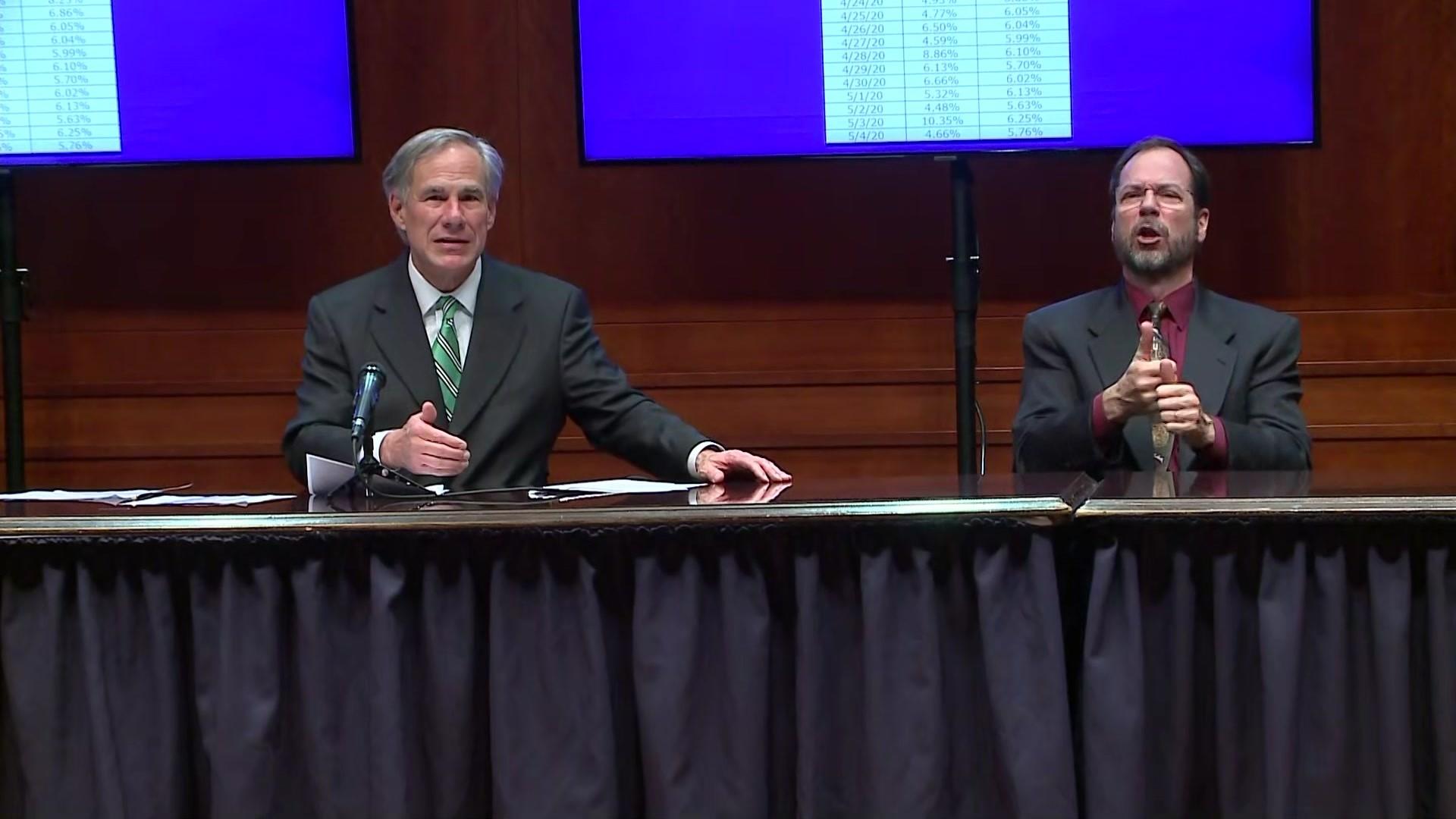 Gov. Greg Abbott announces modifications to executive order ...