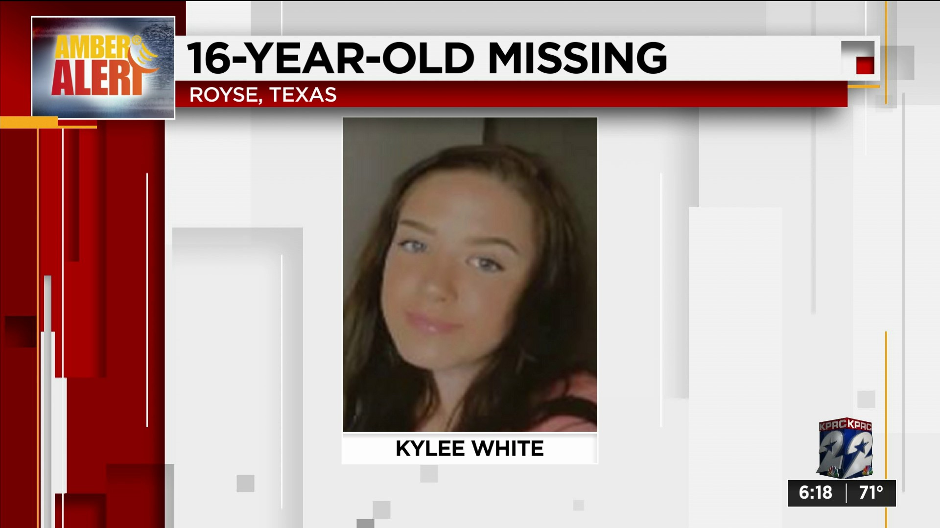 Amber Alert Canceled After 16 Year Old Girl From North Texas Found