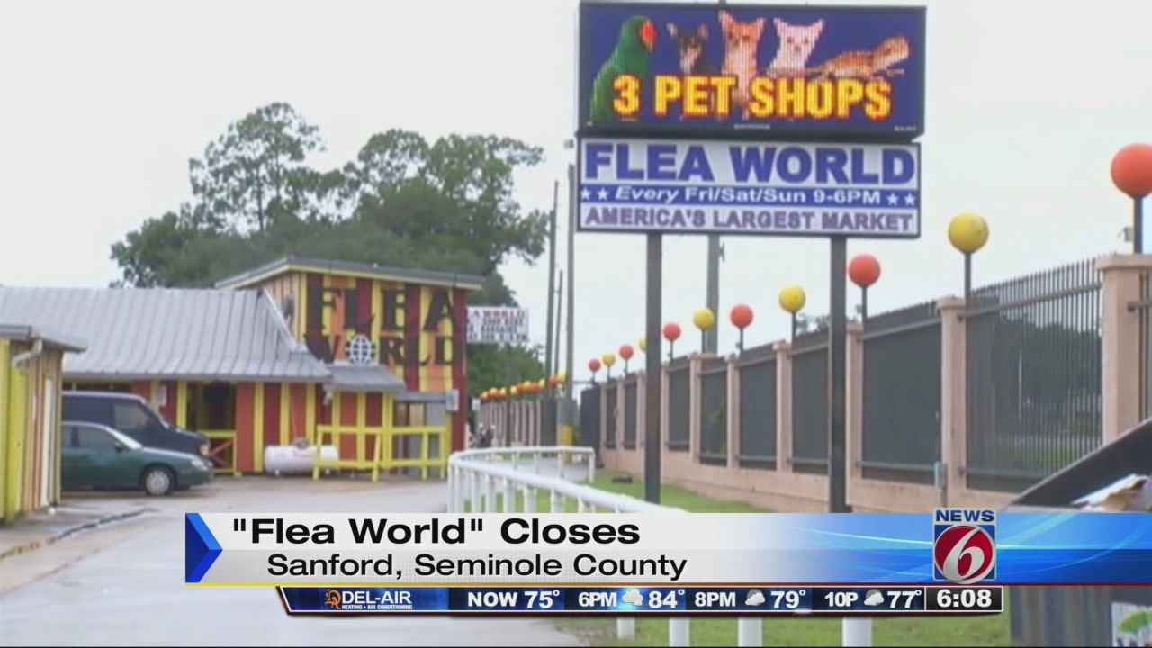 Sanford's Flea World closes for good