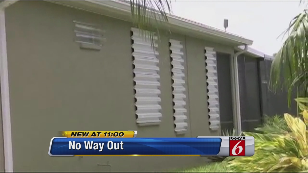 All Guard Shutters hurricane shutters put residents at risk when fire strikes