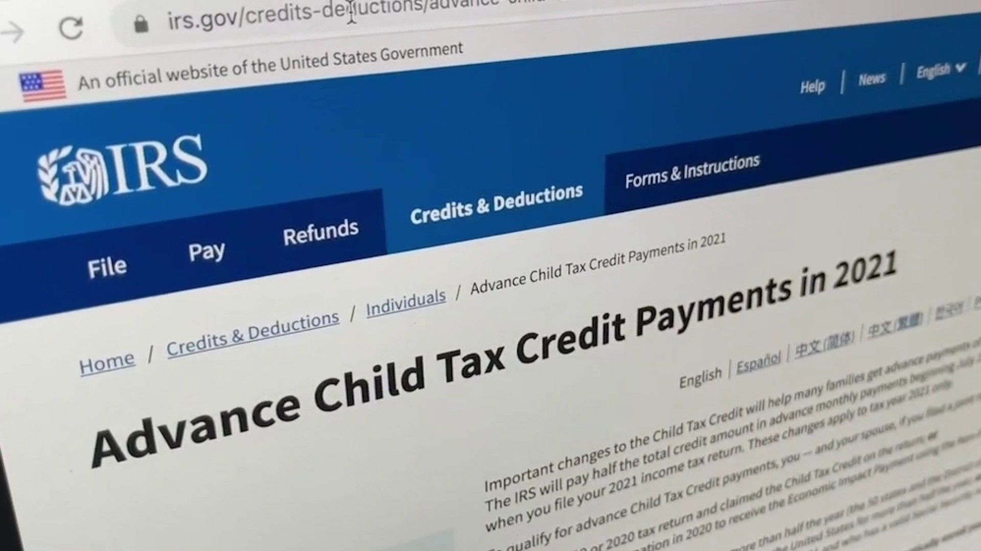 First Monthly Child Tax Credits Go Out Thursday