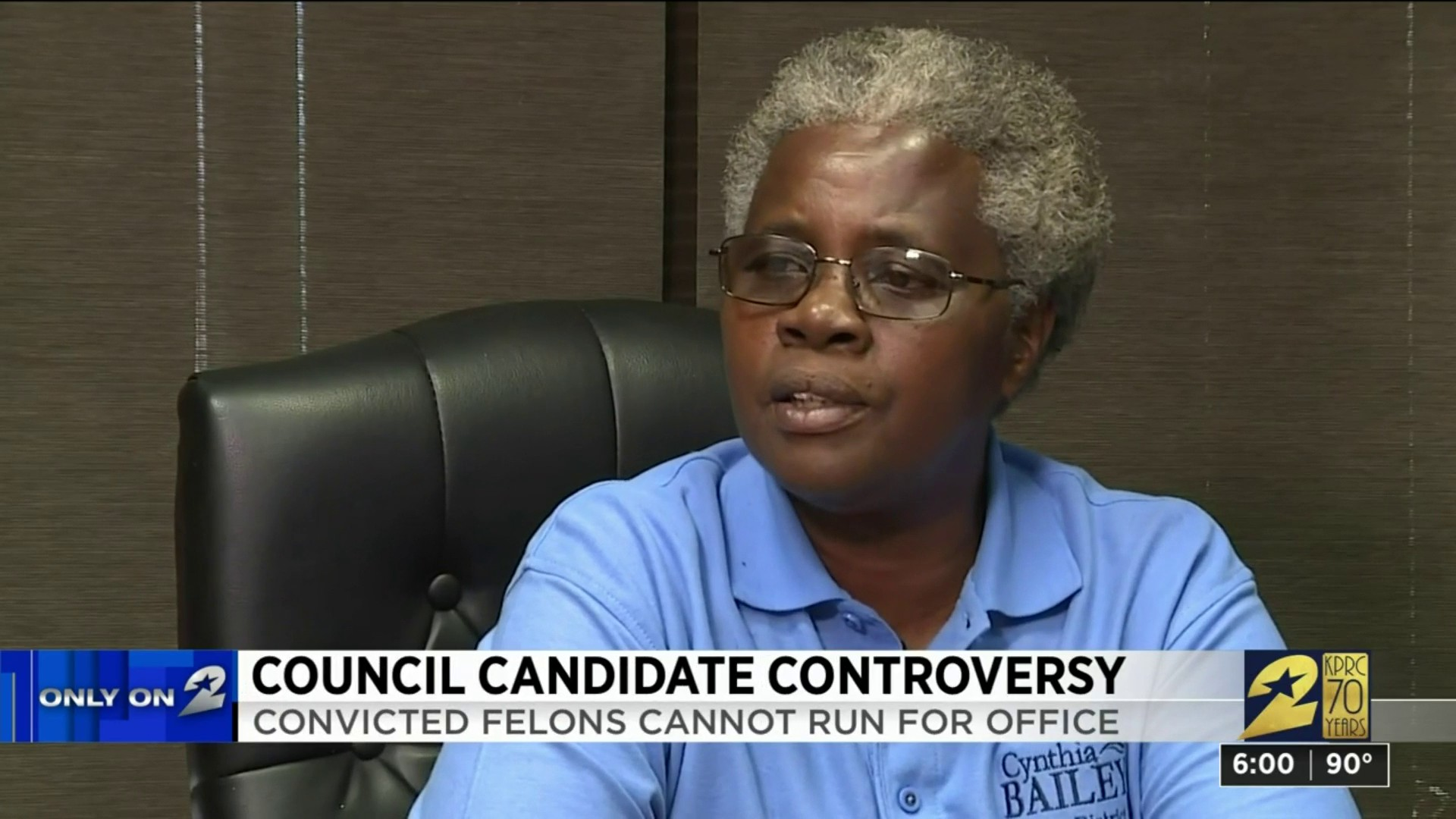 Felon running for Houston City Council says she wants to
