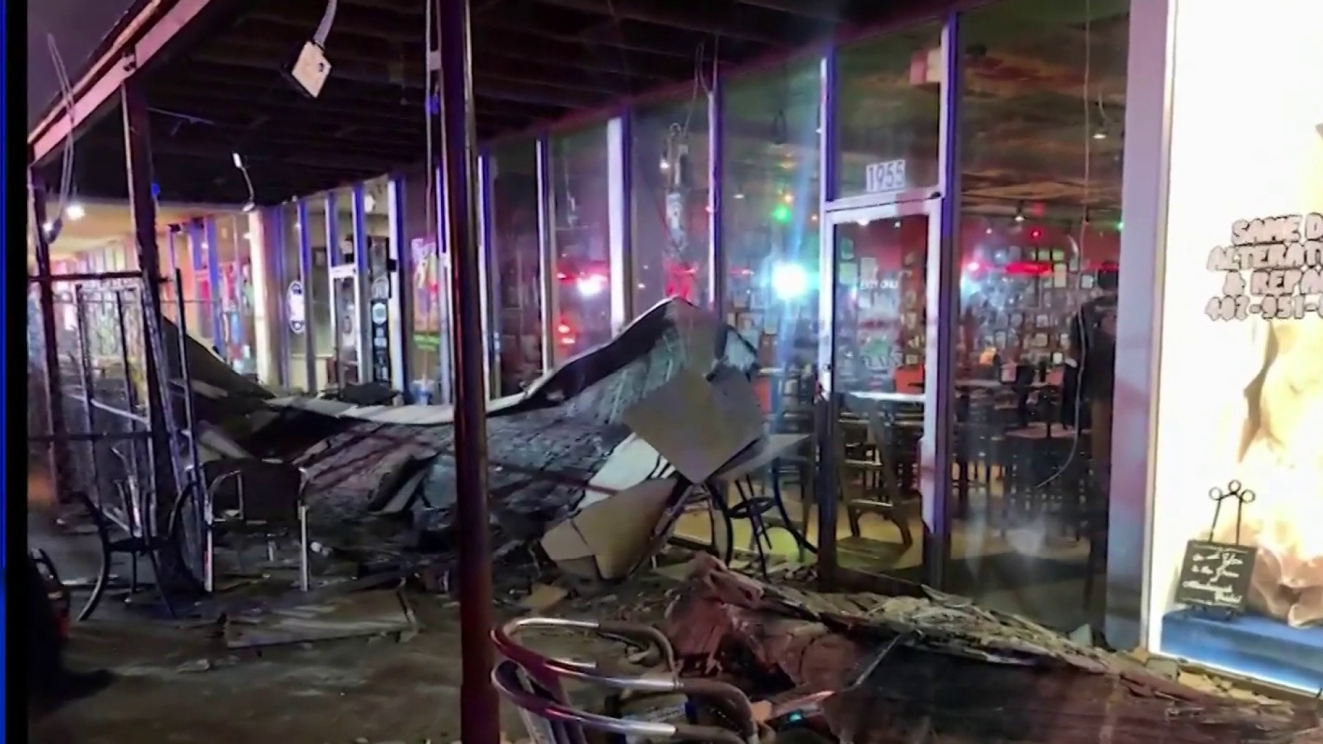 1 Trapped After Ceiling Collapse Outside Tijuana Flats In Winter Park