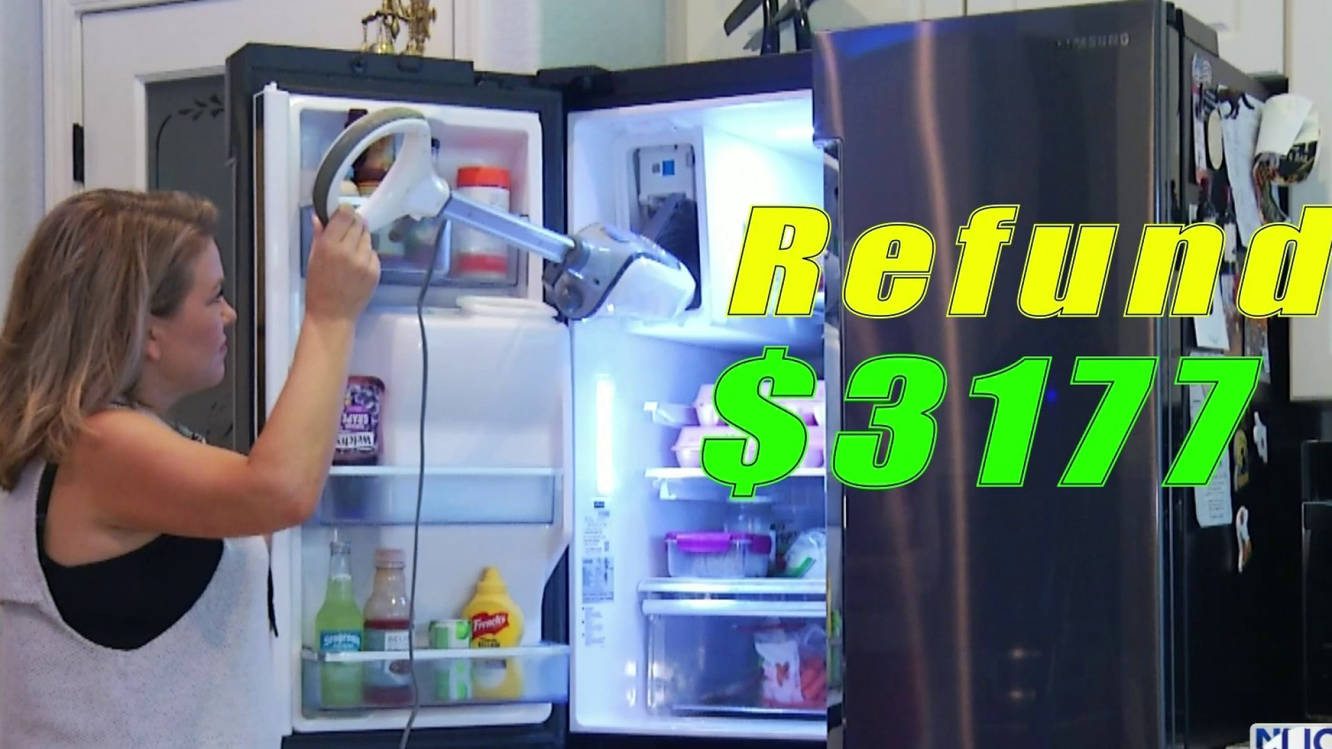 Samsung Refrigerator Owners Frustrated With Ice Makers Freezing Over