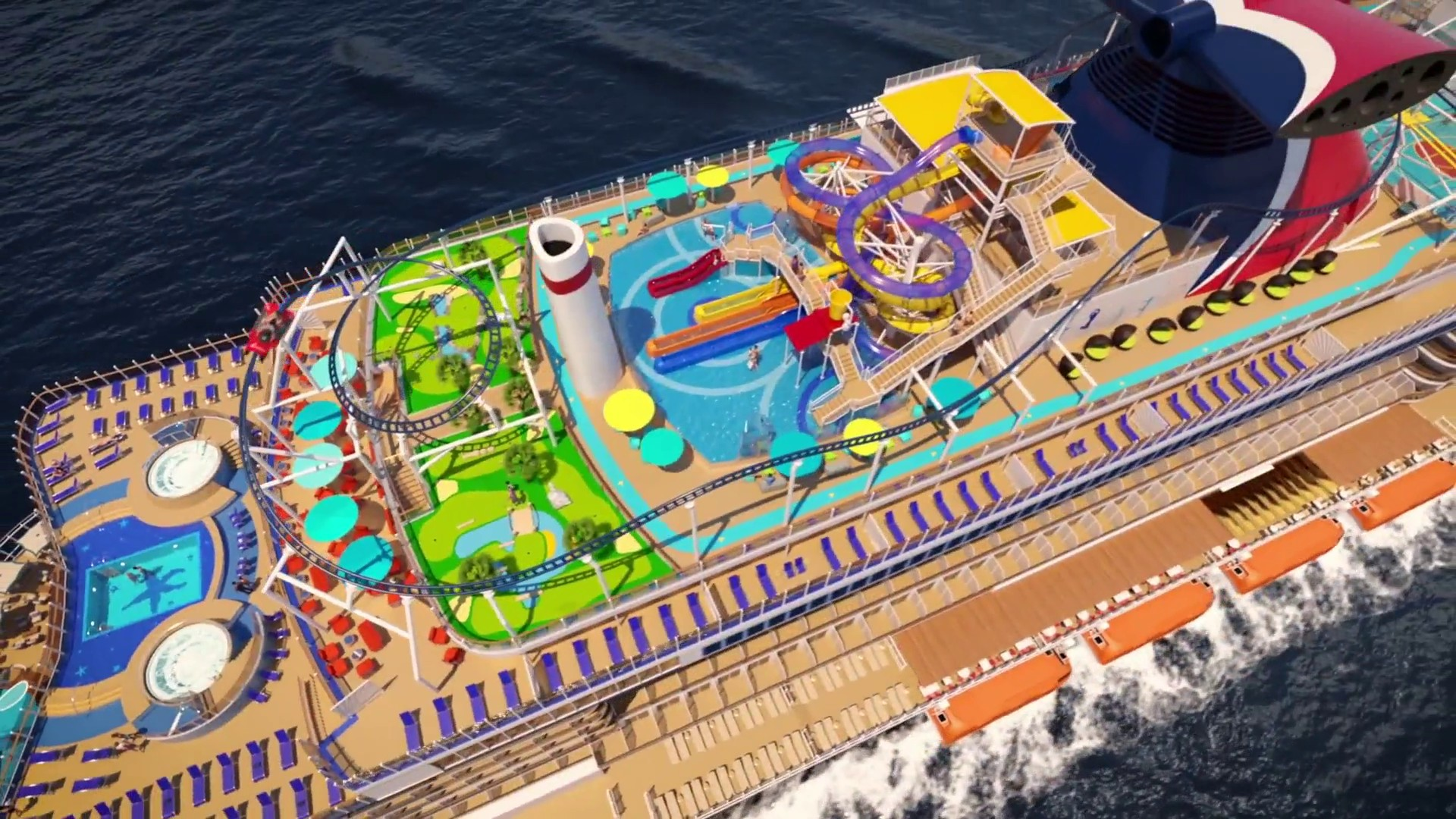 This Is What The First Roller Coaster At Sea Will Look Like